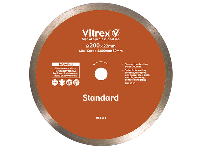 Vitrex Diamond Blade Standard 200mm VIT103411