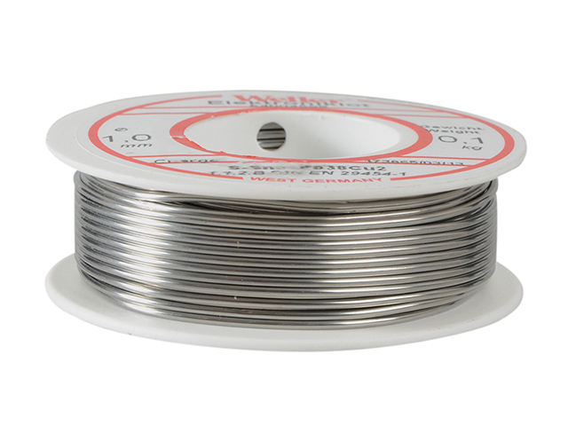 Weller EL60/40-100 Electronic Solder Resin Core 100g WEL54004599