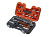 Bahco S330 3/8in Socket Set with 1/4in Bits, 34 Piece