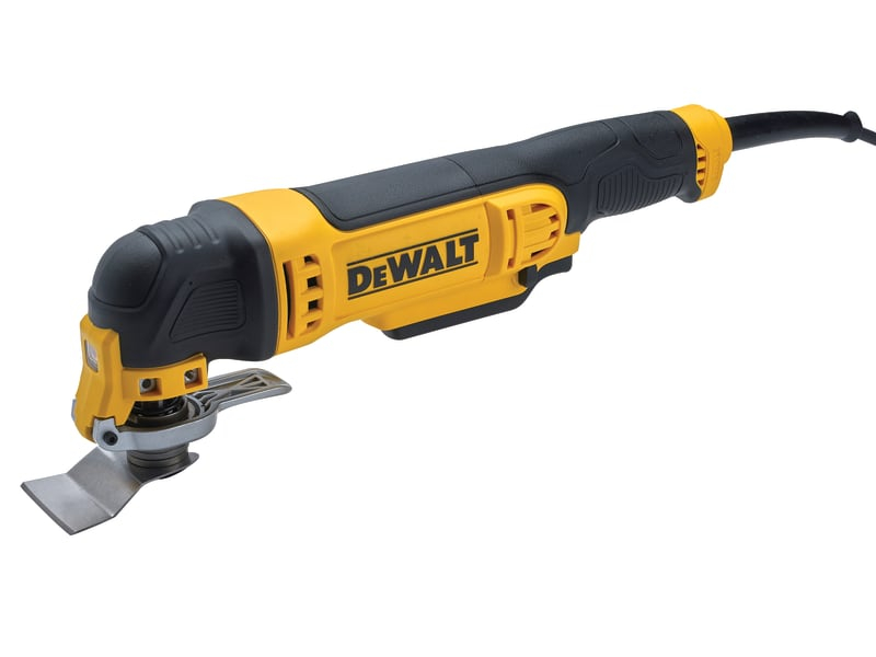 DEWALT DWE315B Corded Oscillating Tool with Bag 300W 240V