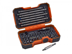 Bahco 59/S54BC-IP Screwdriver Bit Set, 54 Piece
