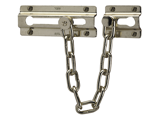 Yale Locks P1037 Door Chain Chrome Finish YALP1037CH