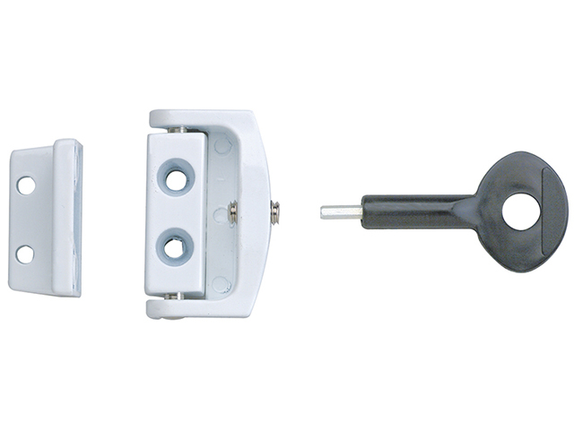 Yale Locks P113 Toggle Window Locks White Pack of 1 YALP113WE