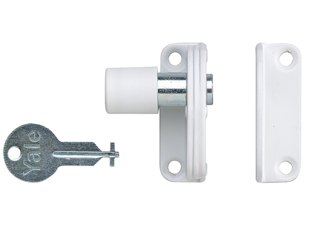 Yale Locks P123 Sash Window Presslock White YALP123WE