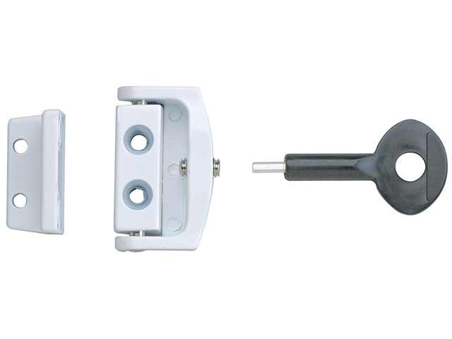 Yale Locks P113 Toggle Window Locks White Pack of 2 YALP2P113WE