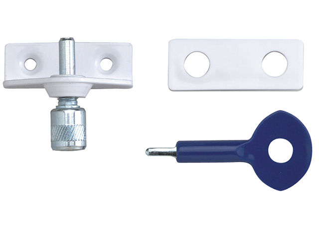 Yale Locks P120 Window Staybolts White Pack of 6 P6P120 YALP6P120