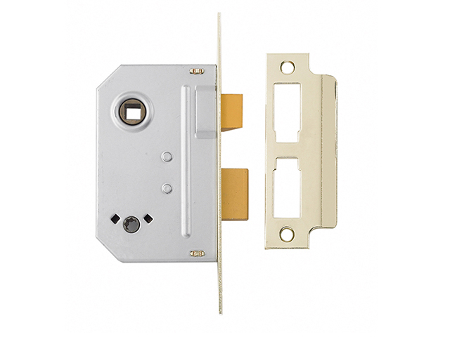 Yale Locks PM236 Bathroom 2 Lever Sashlock Polished Chrome 67mm 2.5in YALPM236CH25