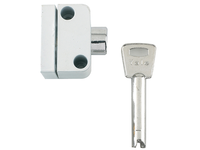Yale Locks 8K102 Push Button Window Lock White Finish Visi YALV8K1022W
