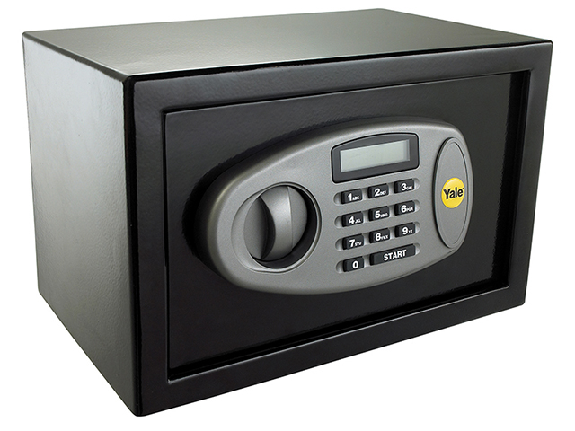 Yale Locks Medium Digital Safe 25cm YALYMS