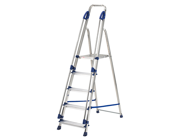 Zarges Professional Platform Steps, Platform Height 0.57m 3 Rungs ZAR100883