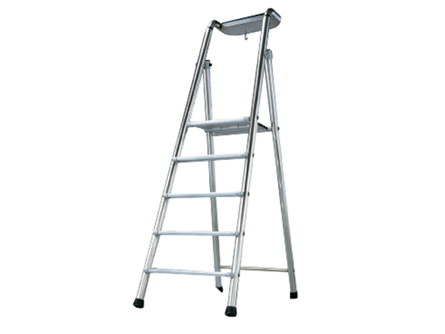Zarges Pro-Bat Platform Steps, Platform Height 1.20m 5 Rungs ZAR2376005